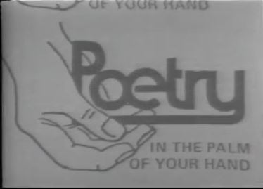 Poetry in the palm of your hand