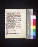Psalterium: fragment