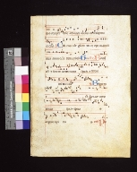 Antiphonarium: fragment