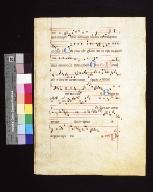 Antiphonarium: fragment