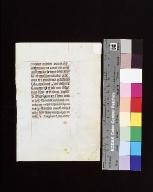 Horae Beatae Mariae Virginis: fragment