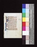 Psalterium: fragment