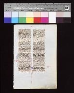 Biblia sacra Latina, versio vulgata : fragment