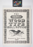 Harris Wood Type Collection: American Typographic Specimens