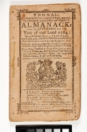 Thomas's Massachusetts, Connecticut, Rhodeisland, New-Hampshire and Vermont Almanack