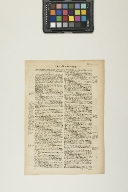 Leaf from the Second Printed Spanish Bible