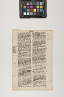 Leaf from a Bishops' Bible
