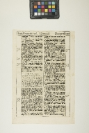 Leaf from the King James Bible