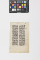 Leaf from an Miniature Manuscript Bible