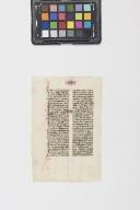 Leaf from an Paris Manuscript Bible