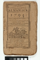 Thomas's Massachusetts, Connecticut, Rhode Island, Newhampshire and Vermont Almanack