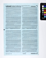 Letraset Instant Lettering: David Hebrew Light 5.0mm