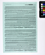 Letraset Instant Lettering: David Hebrew Light 9.5mm