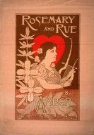 Rosemary and rue by Amber : Rand McNally & co. Chicago