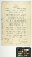F.M. Powell, Printing Type
