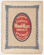 Specimens of chromatic wood type, borders, etc. manufactured by Wm. H. Page & Co