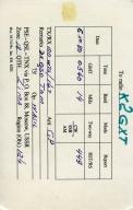 RIT amateur radio card 4 front