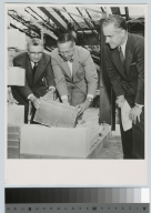 Laying of Cornerstone, Ritter-Clark Memorial Building and Ice Arena, Rochester Institute of Technology