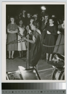 Student activities, concert by Carmen McRae held at the downtown Campus of the Rochester Institute of Technology