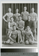 Student activities, group portrait of the Rochester Athenaeum and Mechanics Institute men's track team, 1912