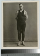 Student activities, portrait of Charles Cala, a member of the first Rochester Athenaeum and Mechanics Institute Wrestling team, 1928