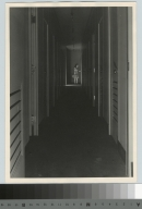 Student enters darkroom, Department of Photographic Technology, Rochester Institute of Technology