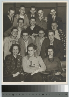 Group portrait, students, Department of Photographic Technology, Rochester Athenaeum and Mechanics Institute