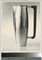 Silver pitcher, School for American Craftsmen, Rochester Institute of Technology