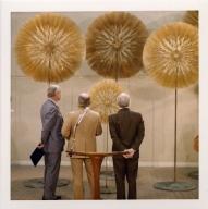 Harry Bertoia dandelion sculpture