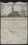 John Adams signed ship passage