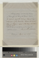 James Buchanan authorization of Ratification of the Belgium Convention
