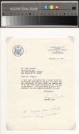 George Bush letter to Gene Lerner