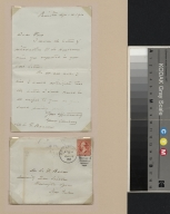 Grover Cleveland letter