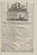 Thomas Jefferson and James Madison signed ship passage