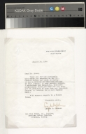 Lyndon Johnson letter to Ben Hill Brown, Jr.