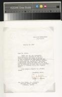 Lyndon Johnson letter to Ben Hill Brown, Jr.