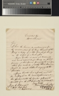 President Zachary Taylor letter to Major Nourse