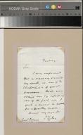 Letter from John Tyler