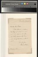 Wilson letter to Fielder