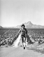 Man Running in the Desert