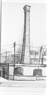 Sketch of RAMI Powerhouse and Engine Room