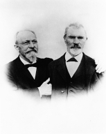 Captain Henry Lomb and JJ Bausch