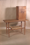 Handcrafted Desk w/ Cabinet