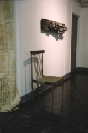 Chair and Wall Sculpture