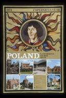 1973 Copernicus year: Poland, N Copernicus' tourist route