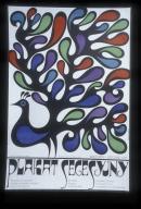 Plakat secesyjny: Muzeum Plakatu w Wilanowie, wrzesin - listopad 1971 : wystawa ze zbiorow Galerii Morawskiej w Brnie (Czechoslowacja)
