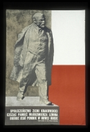 Spoleczenstwo Ziemi Krakowskiej czczac pamiecwPoland - Lodzmierza Lenina buduje jego pomnik w Nowej Hucie