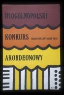 III Ogolnopolski Konkurs Akordenowy, Bialystok, kwiecien1975