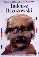Tadeusz Brzozowski: Poland at XIII Biennale in Sao Paolo, 1975 : exhibition organized by Ministry of Culture and Art of the Polish People's Republic