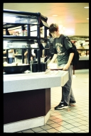 Grabbing a meal